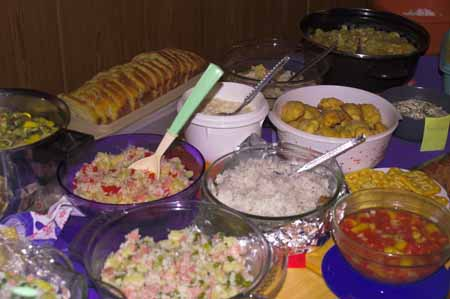 Picture: Delicious Food on World Day of Prayer