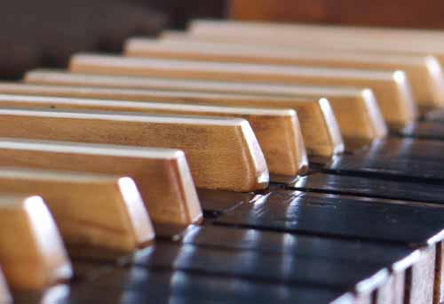 Picture: Organ Keys